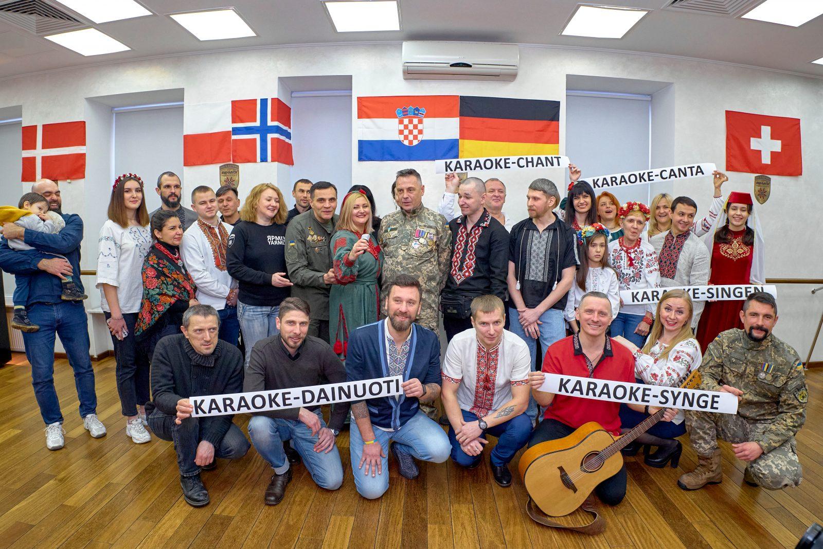 Проєкт «Заснування Ветеранського мовного центру «Діалог» як місця презентації культур»